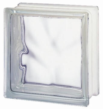 Glass Block Clear Wave