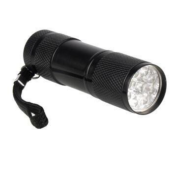FLASHLIGHT LED LEXMAN SHORT BLACK