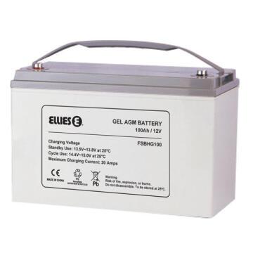 Battery solar hybrid gel ELLIES 100AH