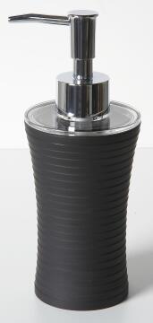 Soap dispenser plastic SENSEA Gom black