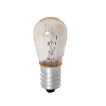 OVENLAMP CLEAR E14 15W PYGMY 300'C