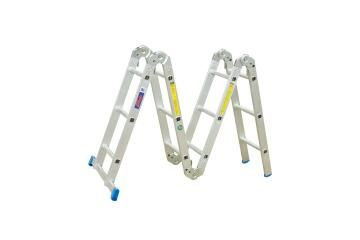 Multi Purpose Ladder Aluminium, 6 Steps as a A frame, 12 Steps as a Straight Ladder WONDER LADDER