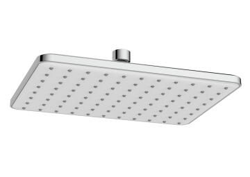 Shower head square 1jet acs chrome SENSEA vito 26X19CM