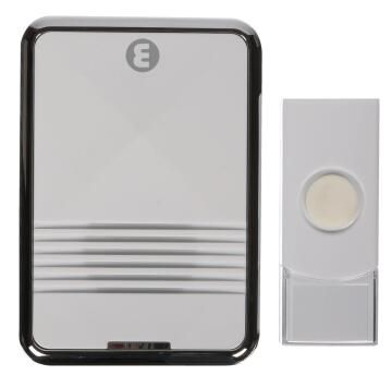 Door chime wireless 1 receiver - 1 transmitter flashing ELLIES