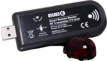 Video transmitter ELLIES smart remote blaster add-on transmitter