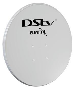 Satellite dish stainless ELLIES