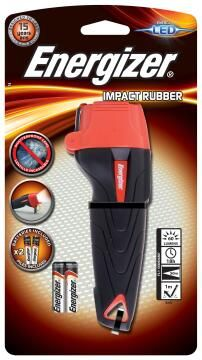 FLASHLIGHT RED AND BLACK ENERGIZER