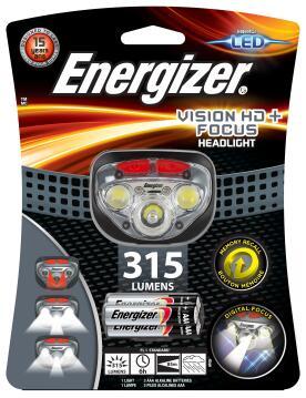 HEAD LIGHT HD PLUS FOCUS ENERGIZER