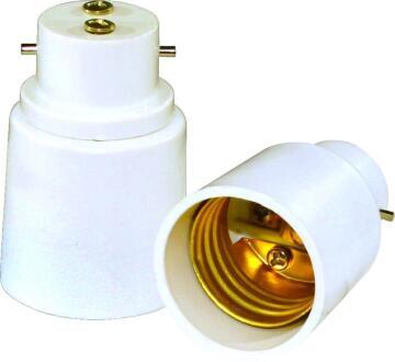 Bulb holder adapter B22 to E27