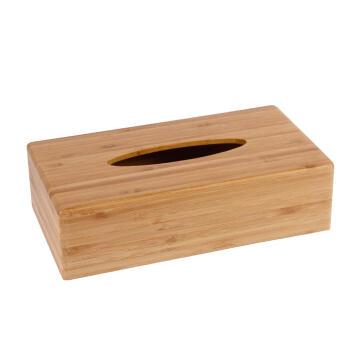 Tissue box bamboo SENSEA natural