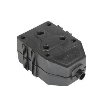 Janus Plug PVC black EUROLUX