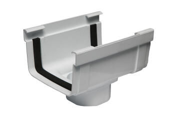 UPVC Gutter Outlet STREAMLINE