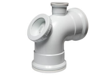 Vent horn bend MARLEY 110mm X 87,5 degree