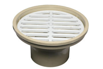 PVC Underground Gully Head & Grate150mm x 110mm