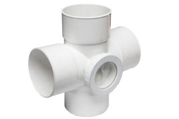 Double junction MARLEY access 110mm x 110mm 95 degree pvc
