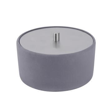Cotton box SENSEA Apollon grey