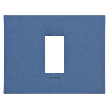 C.PLATE 2X4 1 G SEA BLUE GEWISS