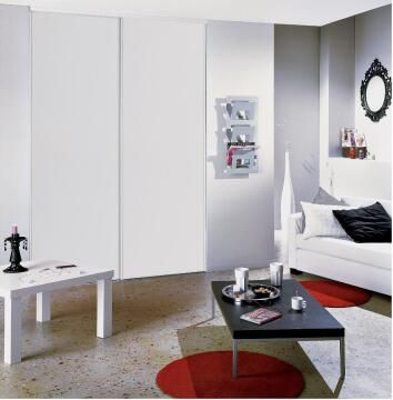 Wardrobe sliding door allure white H250cm x W78cm