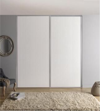 Wardrobe sliding door allure white H250cm x W62cm
