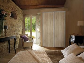 Wardrobe sliding door allure wild oak H250cm x W62cm