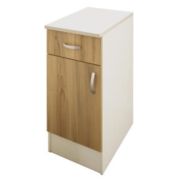 Kitchen base cabinet kit 1 drawer/1 door SPRINT wood L40cmxH87cmxD60cm