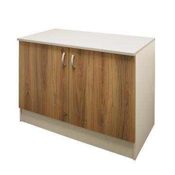 Kitchen base cabinet kit 2 door SPRINT wood L120cmxH87cmxD60cm
