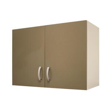 Kitchen wall cabinet kit 2 door SPRINT espresso L80cmxH58cmxD35cm