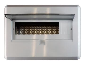 DB board unpopulated 20 ways flush mounted CBI ELECTRIC