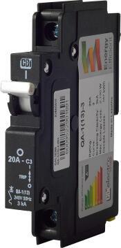 Circuit breaker mini rail 20Amp CBI ELECTRIC