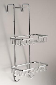 Shower caddie ss overhang steel