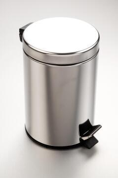 Dustbin stainless steel 5L
