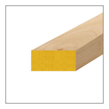 Wood Strip PAR (Planed-All-Round) Pine-22x44x3000