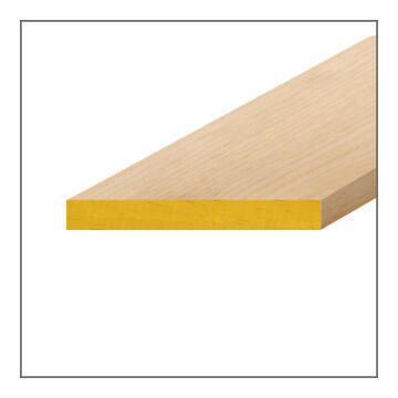 Wood Strip PAR (Planed-All-Round) Pine-22x144x3000
