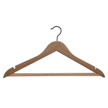 2pc Anti sliding hanger oak