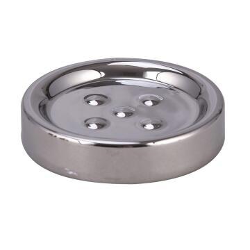 Soap dish ceramic SENSEA Legend shiny chrome