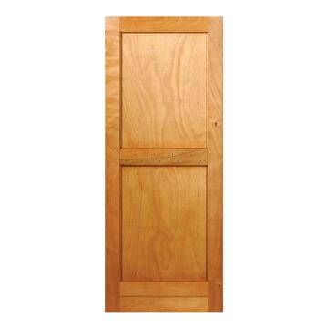 Service Door Engineered Wood with Hardwood Veneer Framed, Ledged & Battened Ply Back Winster-w813xh2032mm