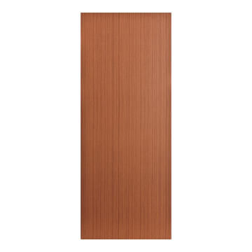 Interior Door Hard Board Hollow Core Sapele Print Exposed Edges-w813xh2032mm