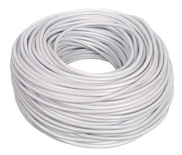 CABTYRE CABLE 2X1MM + E WHT 10M