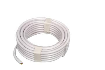 CABTYRE CABLE 2X1.5MM + E WHT 20M