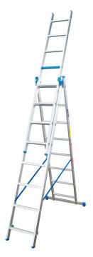 5 In 1 Ladder 7/15 Step Aluminium GRAVITY
