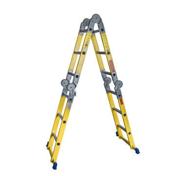 Multi Purpose Ladder Fibreglass, 6 Steps as a A frame, 12 Steps as a Straight Ladder SUPERLIGHT