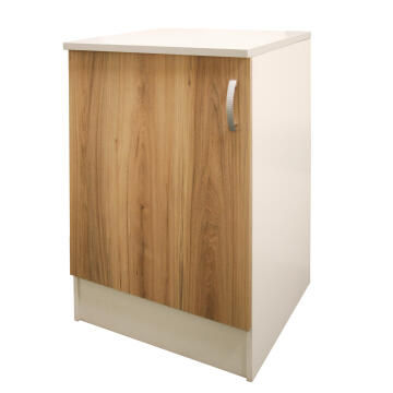 Kitchen base cabinet kit 1 door SPRINT wood L60cmxH87cmxD60cm