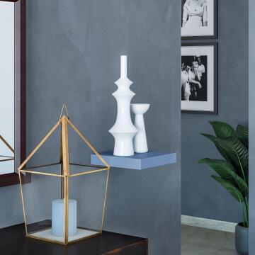 Floating shelf grey 23x23cm,,,,,