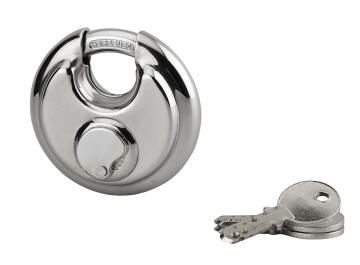 Discuss padlock+stra s/steel body 70mm thirard