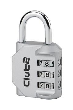 Combination padlock club 30mm thirard