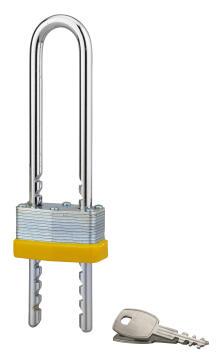 Padlock laminated adjustable shackle 75-120mm thirard