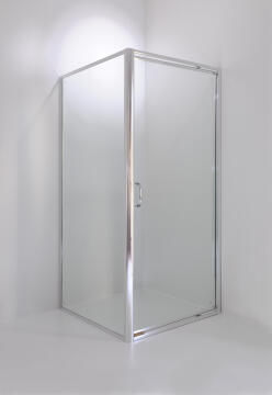 Shower corner entry quadrant glass CERTO clear 88,5x88,5x185cm