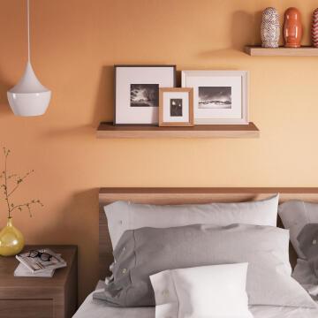 Shelf floating oak 80cm x 23cm