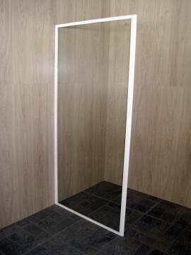 Shower door return panel glass white 90CMX185CM