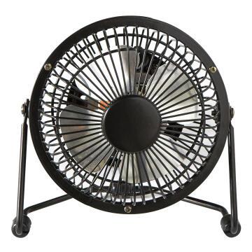Mini fan EQUATION metal 10cm 15w black